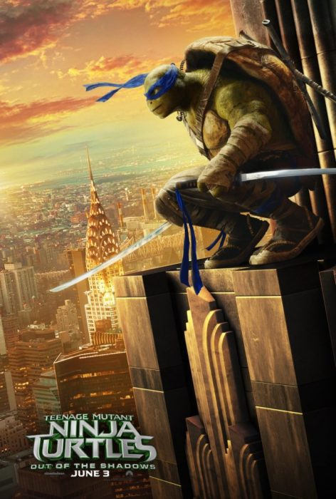 Tartarughe Ninja - Fuori dall'Ombra (Leonardo)