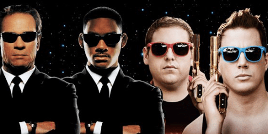 21 Jump Street e Men in Black Crossover