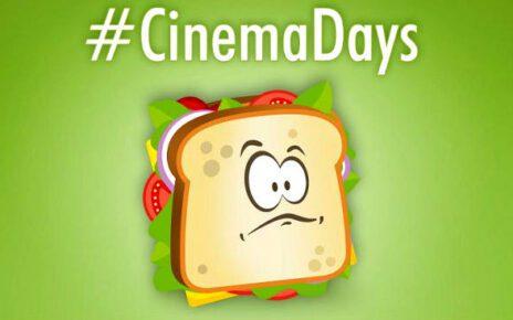 Tornano i CinemaDays - Dall'11 al 14 aprile il cinema a 3 Euro