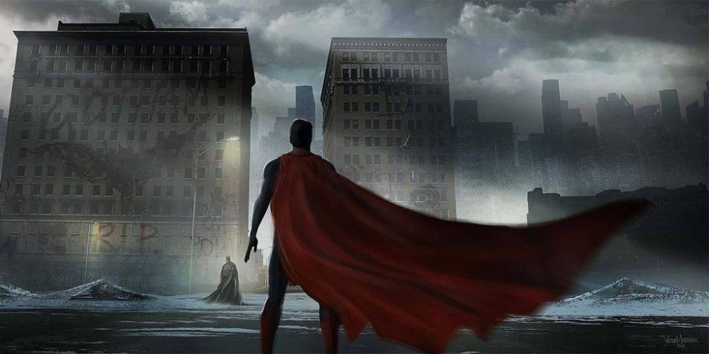Batman v Superman: Dawn of Justice (Concept Art - Victor Martinez)