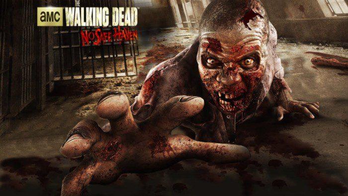 The Walking Dead attrazione