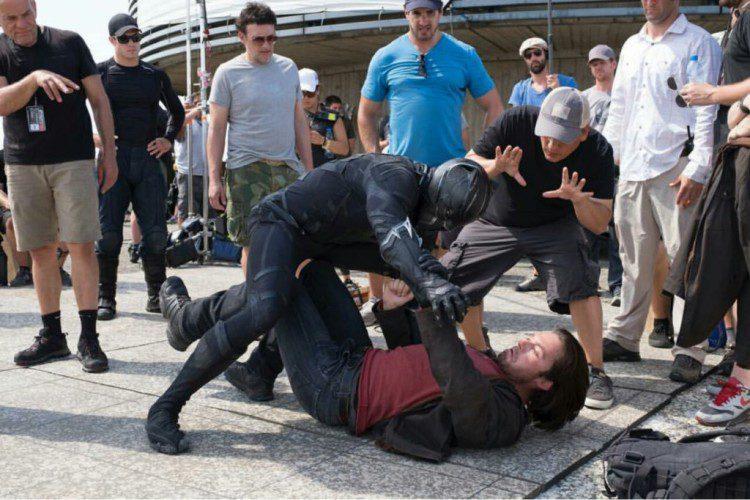 Captain America: Civil War (dal set)