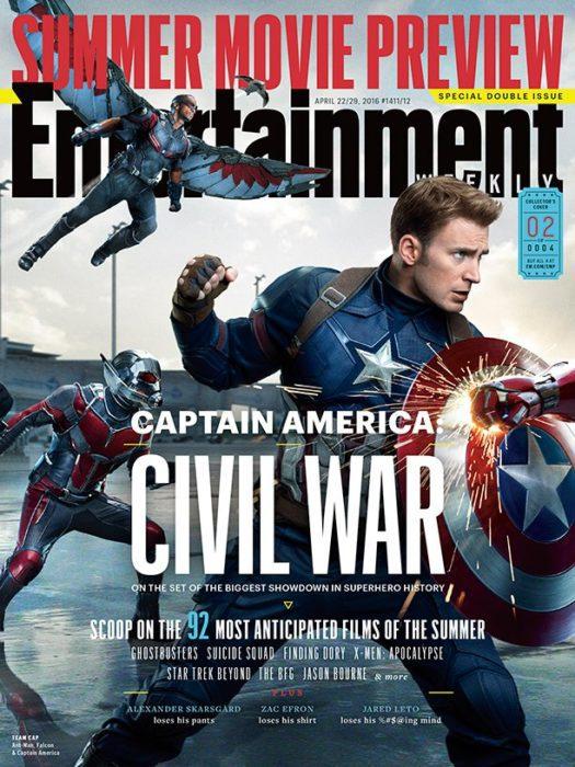 captain america civil war ew
