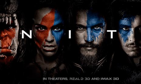 warcraft film banner