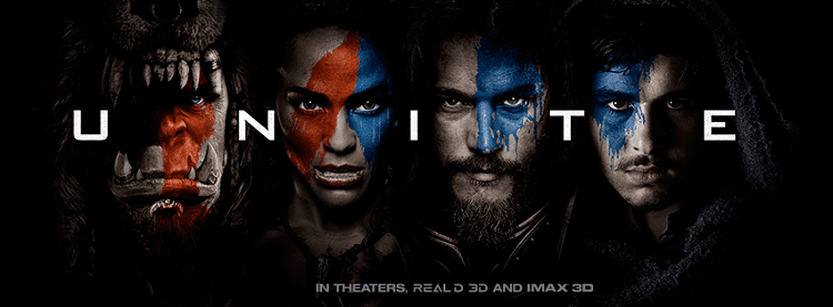 warcraft film banner