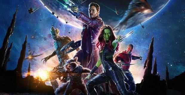guardiani della galassia banner