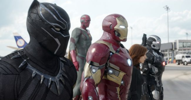 Captain America Civil War foto