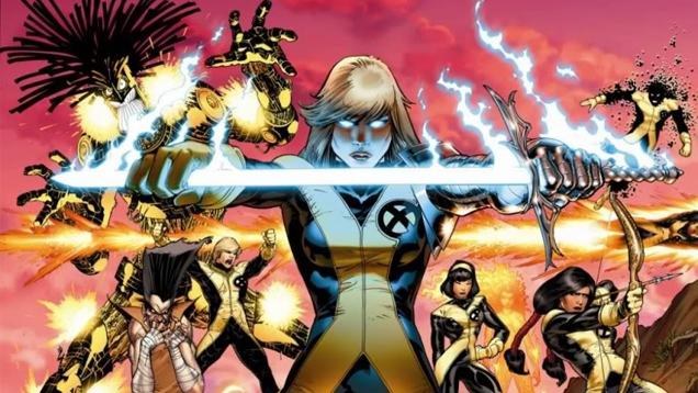 new mutants foto fumetto