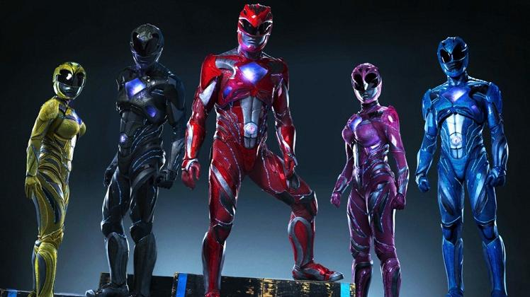 power rangers costumi