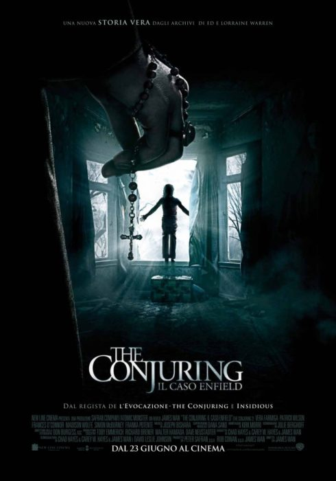 the conjuring 2 poster ita