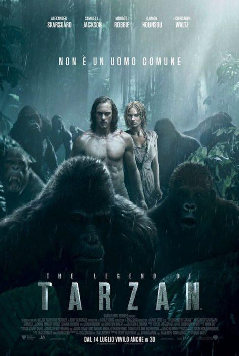 the legend of tarzan poster ita