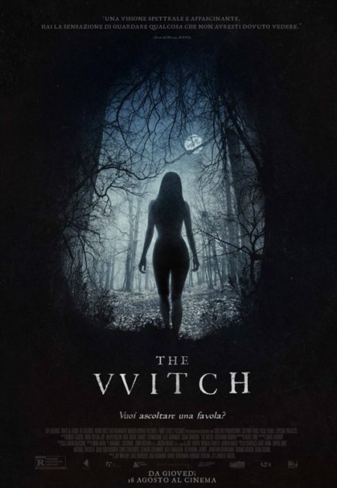 the witch poster ita