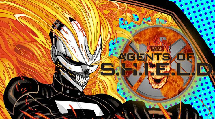 Entertainment Weekly svela il look umano del Ghost Rider in Agents of SHIELD 4
