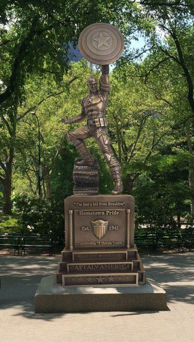 captain america 75 statua sdcc16