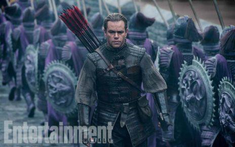 Matt Damon protagonista negli scatti esclusivi del kolossal cinese The Great Wall