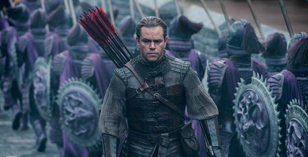 Il kolossal cinese The Great Wall sotto accusa per la presenza di Matt Damon nel cast