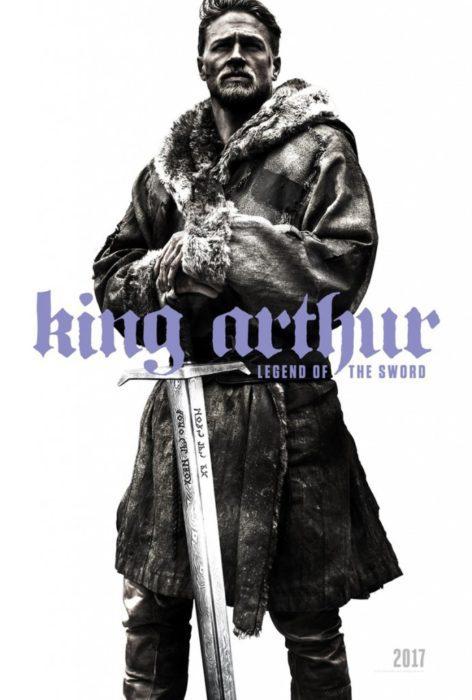 king arthur poster sdcc