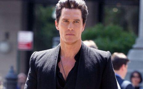 Matthew McConaughey è il villain Randall Flagg sul set di La Torre Nera