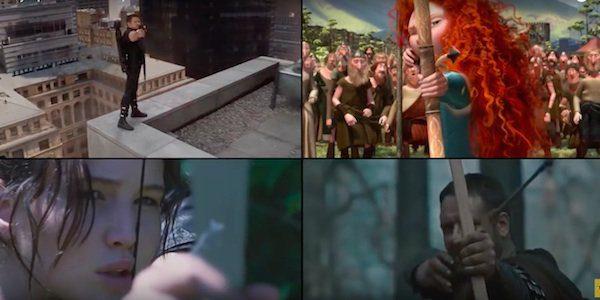 Uno straordinario video supercut rende omaggio a Rio 2016 riunendo cinema e sport