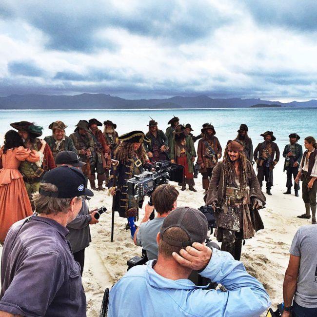 pirati dei caraibi 5 foto set