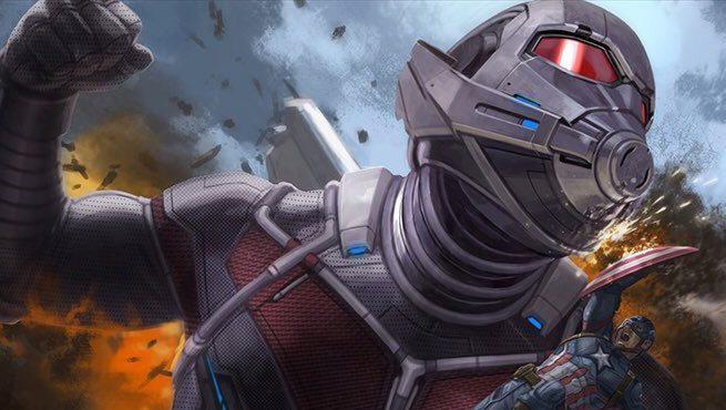 Captain America: Civil War - Captain America contro Giant-Man nel nuovo affascinante concept art