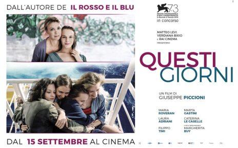 Venezia 73 - Una nuova clip del film in concorso Questi giorni, il film di Giuseppe Piccioni