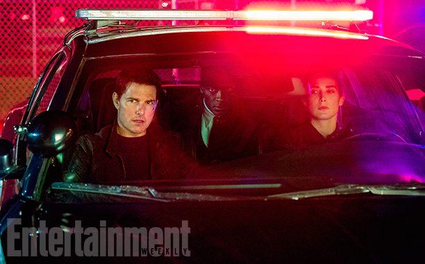 Tom Cruise e Cobie Smulders nella nuova foto di Jack Reacher - Punto di non Ritorno