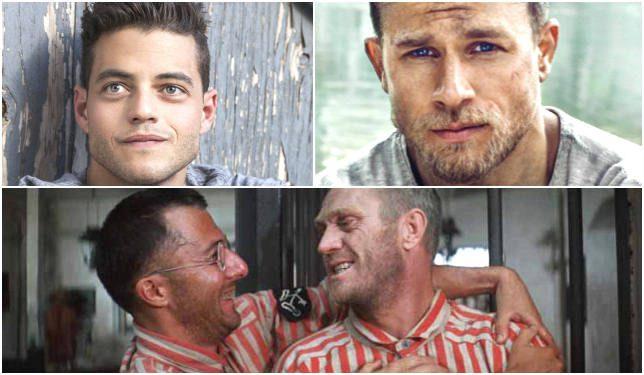 Saranno Charlie Hunnam e Rami Malek i due interpreti del remake di Papillon