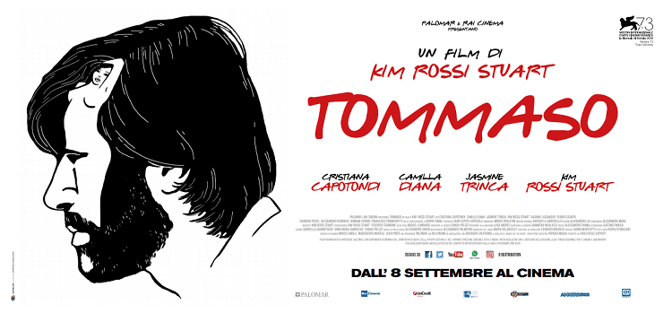 Venezia 73 - Ecco un bellissimo poster grafico per Tommaso, il film di Kim Rossi Stuart