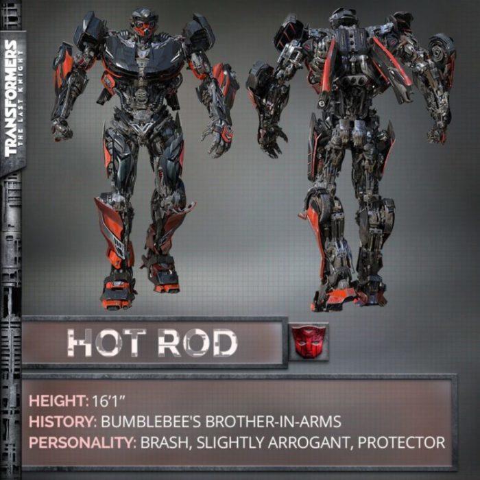 transformers 5 hot road foto intera