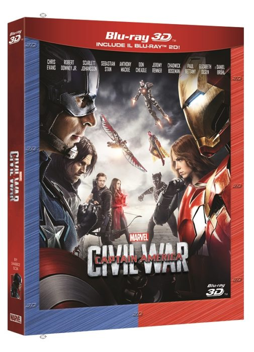 Captain America: Civil War (Home Video)