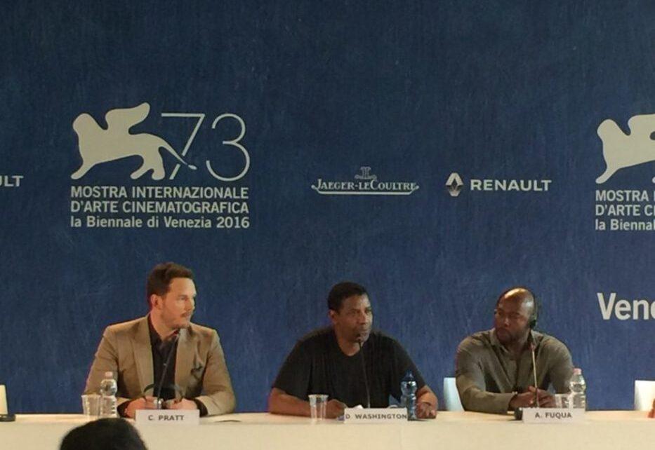 Venezia 73 - La conferenza stampa di I Magnifici 7 con gli attori e il regista