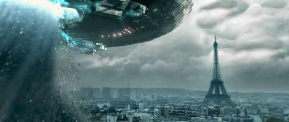 Sci-fi World - Parigi risucchiata da una enorme nave aliena nello short film Invasion Day