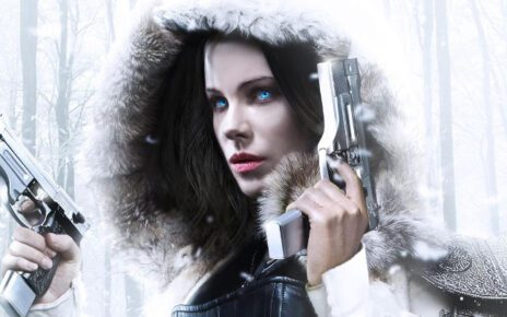 Una glaciale Kate Beckinsale nel primo poster italiano di Underworld - Blood Wars