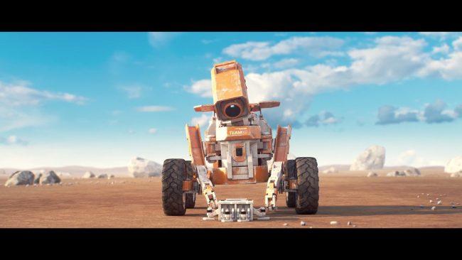 Sci-fi World – Le disavventure di due piccoli rover su un pianeta extrasolare, questa la trama del corto intitolato Planet Unknown.
