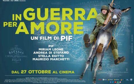 Trailer e poster ufficiali di In guerra per amore, il nuovo film di Pif