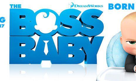 baby boss cartoon banner