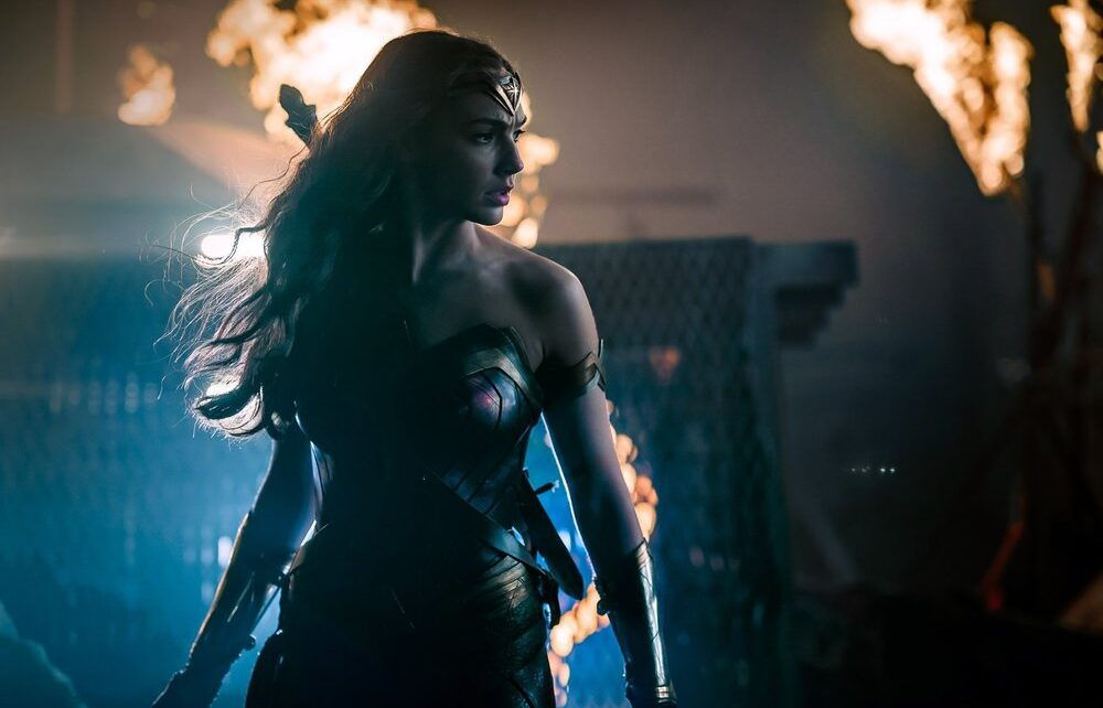 wonder woman foto justice league