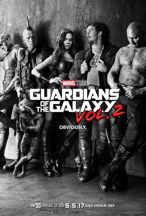 guardiani galassia 2 poster