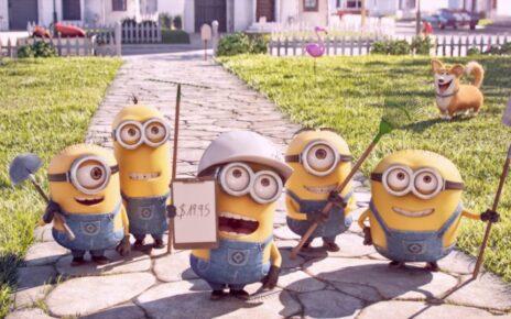 I Minions si danno al giardinaggio nel promo del corto pre Pets - Vita da Animali