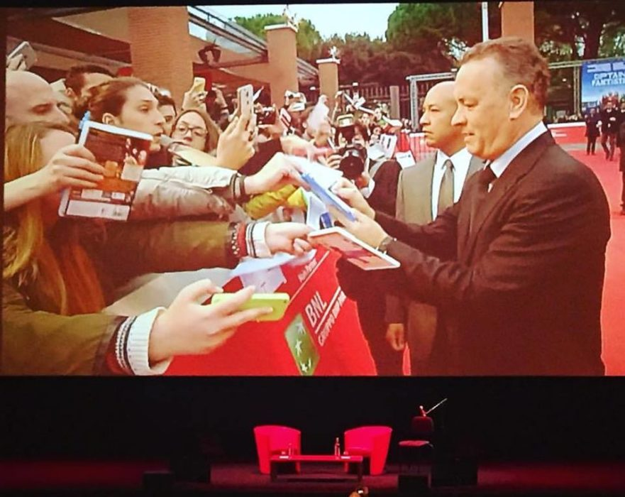 Tom Hanks (Red Carpet Festa del Cinema di Roma)