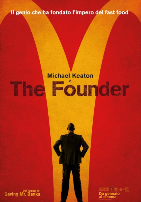 the founder poster ita
