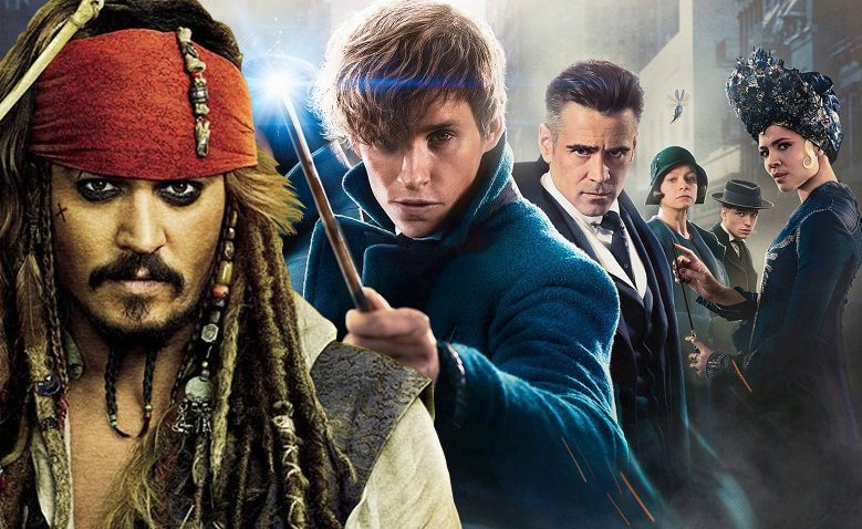 johnny depp animali fantastici