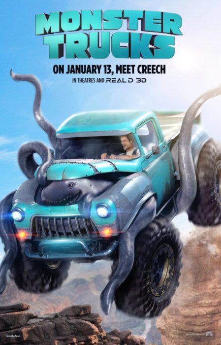 monster trucks film poster