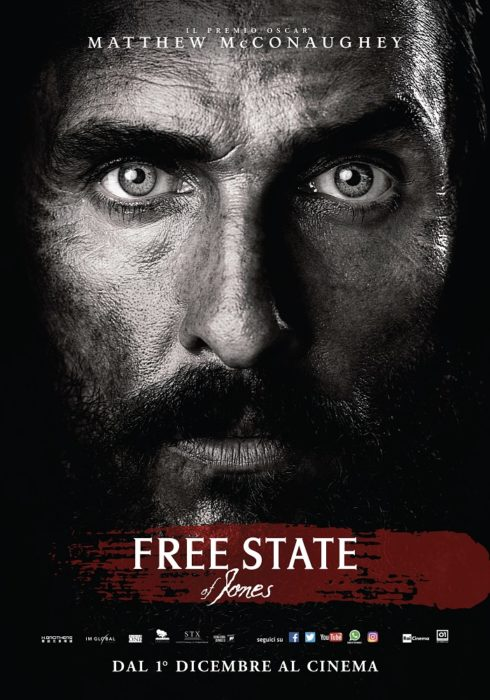 free state of jones poster ita