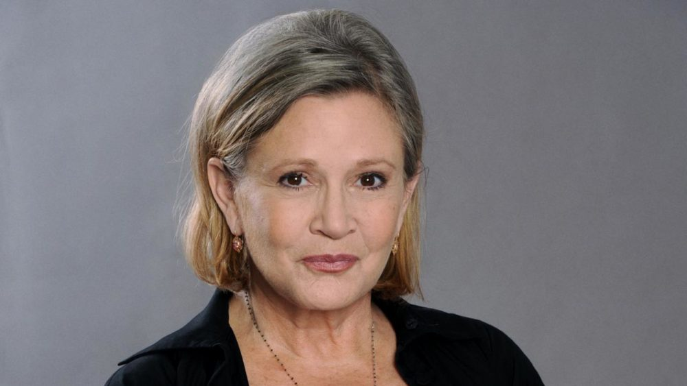 carrie fisher foto