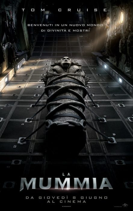 la mummia poster ita