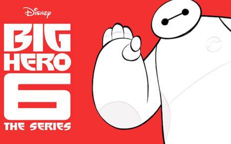 big hero 6 series