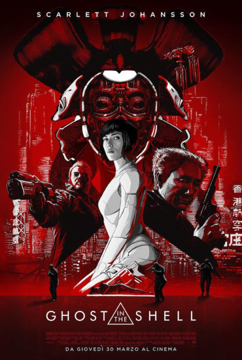 ghost in the shell poster ita