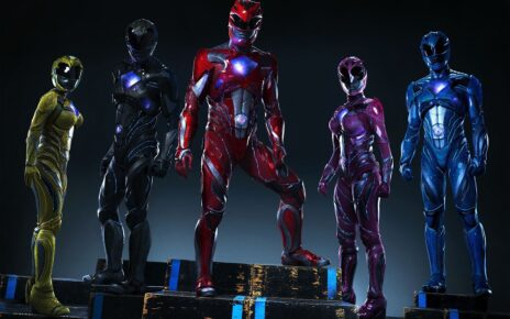 power rangers promo foto